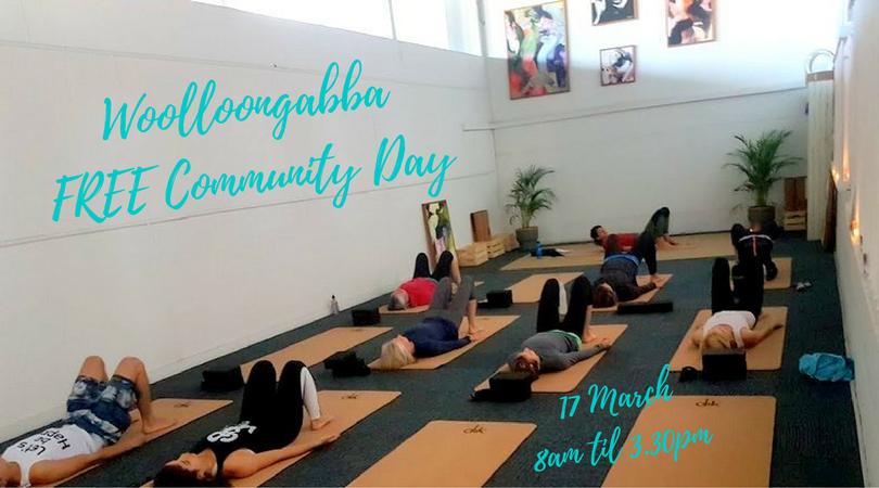 Woolloongabba Free Community Day | YOGA ELIXIR